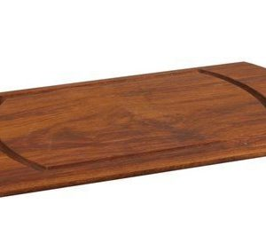 Lava Leikkulauta 27x47 cm Iroko Wood