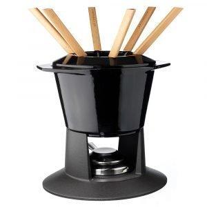 Le Creuset Fondue Setti Gourmand Shiny Black 1