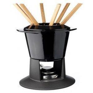 Le Creuset Fonduesetti Gourmand Black 1