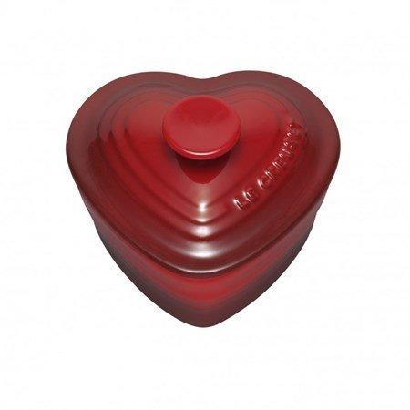 Le Creuset Ramekiini sydän kannellienn 0