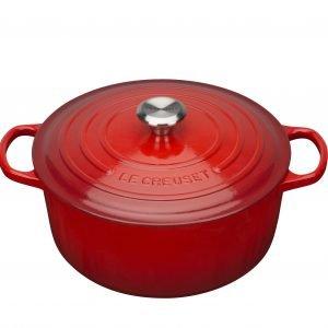 Le Creuset Signature Pata Punainen Valurauta Cerise 34 Cm 12.4 L