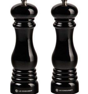 Le Creuset Suola- ja pippurimyllysetti 21 cm Black