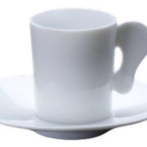 Legnoart Espressokuppi lautasella ja lusikalla 25 cl