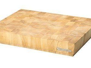 Leikkuulauta kumipuu 40x30x7
