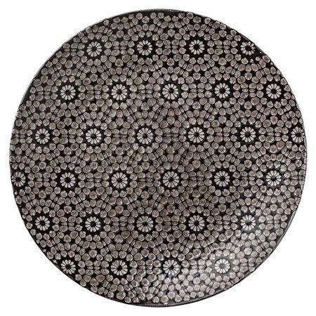 Lene Bjerre Abella lautanen musta 27 cm