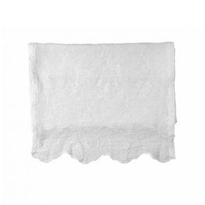 Lene Bjerre Petrea Crushed Embroidery Kaitaliina 180 X 50 Cm