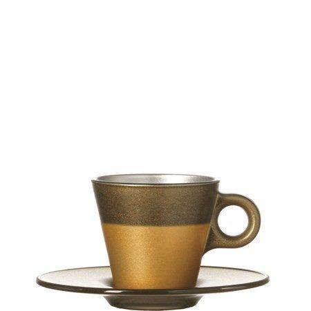 Leonardo Espressokuppi Kulta