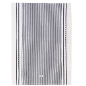 Lexington Icons Oxford Striped Keittiöpyyhe Sininen 50x70 Cm