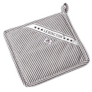 Lexington Icons Oxford Striped Patalappu Harmaa