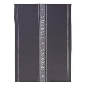 Lexington Icons Star Keittiöpyyhe Harmaa Valkoinen 50x70 Cm