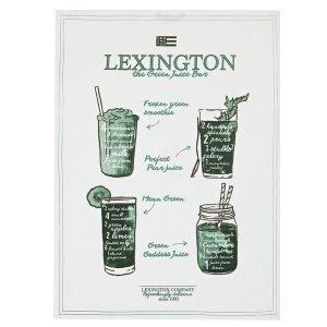 Lexington Printed Keittiöpyyhe Valkoinen / Vihreä 50x70 Cm