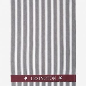 Lexington Striped Keittiöpyyhe Harmaa Monivärinen 50x70 Cm