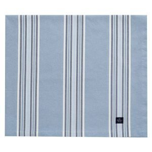Lexington Striped Pöytäliina Blau 150x250 Cm