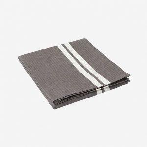 Lexington Striped Pöytäliina Harmaa / Valkoinen 150x250 Cm
