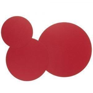 Lind Dna Circle Triple Set Pannunalunen Bull Red