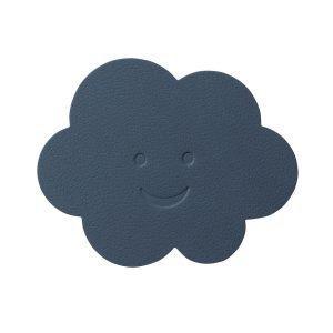 Lind Dna Cloud Lasinalunen Nupo Dark Blue Ø12 Cm