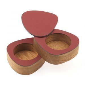 Lind Dna Curve Salt & Pepper Red 2-Pakkaus