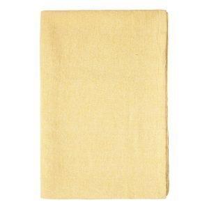 Linum Hedvig Pöytäliina Mustard Yellow 170x250 Cm