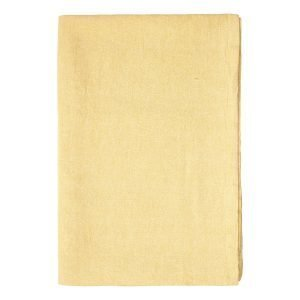 Linum Hedvig Pöytäliina Mustard Yellow 170x330 Cm