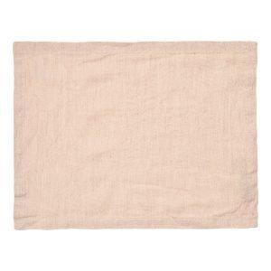 Linum Hedvig Pöytätabletti Dusty Pink 35x45 Cm