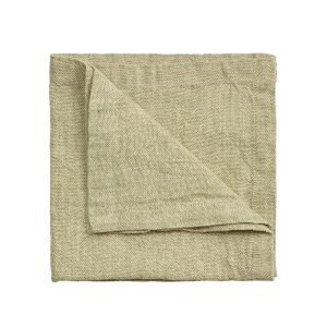 Linum Hedvig Servetti Light Cypress Green 45x45 Cm