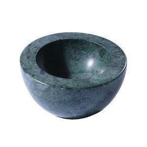 Linum Marble Kulho Pine Green Ø10 Cm