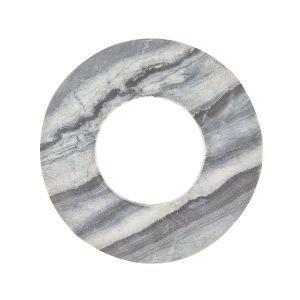 Linum Marble Pannunalunen Granite Grey Ø22 Cm