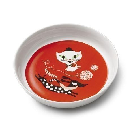 Littlephant Catfun Lautanen Punainen