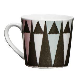 Littlephant Triangle Muki Valkoinen / Musta / Multi 20 Cl