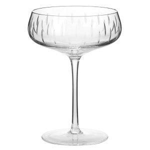Louise Roe Crystal Glass Samppanjalasi Kirkas