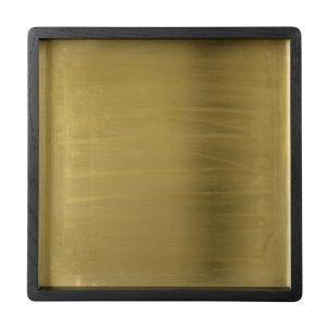 Louise Roe Small Square Tarjotin Messinki 28x28 Cm