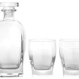 Luigi Bormioli Rossini whiskysetti 3 osaa kirkas