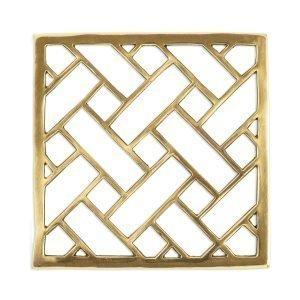 Lulu Carter Design Ribbon Pannunalunen Messinki 20x20 Cm