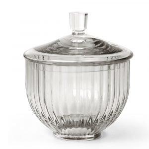 Lyngby Porcelæn Bonbonniere Savunharmaa Ø10 Cm