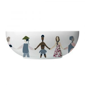 Lyngby Porcelæn Children Of The World Kulho Ø28 Cm