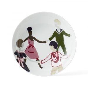 Lyngby Porcelæn Children Of The World Lautanen Mega Ø23 Cm