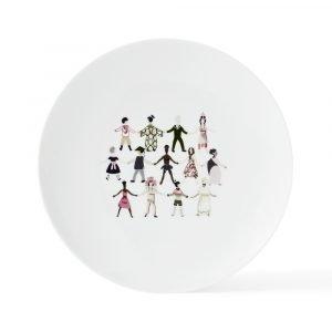 Lyngby Porcelæn Children Of The World Lautanen Small Ø23 Cm