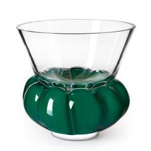 Målerås Glasbruk Padam Kulho Läpinäkyvä / Vihreä