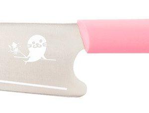 Mac Kid Ensiveitsi Lapselle Ruostumaton Teräs Vaaleanpunainen 23 Cm