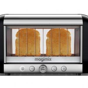 Magimix Vision Leivänpaahdin Ruostumaton Teräs Musta