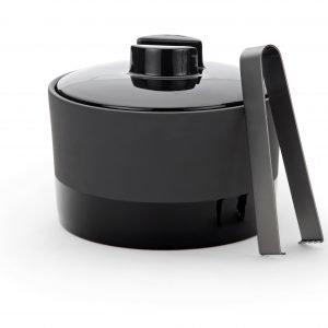 Magisso Cooling Ceramics Jääpalakulho Pihdeillä Musta 1.4 L
