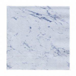 Marble Paperiservietit Vaaleanharmaa