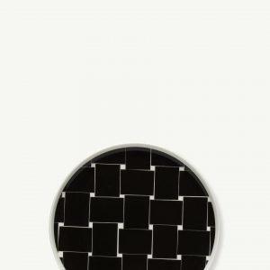 Marimekko Basket Lautanen Musta Valkoinen 20 Cm