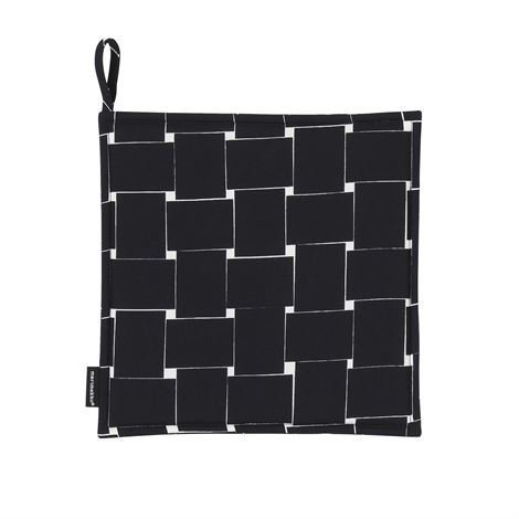 Marimekko Basket Pannulappu Musta-Valkoinen