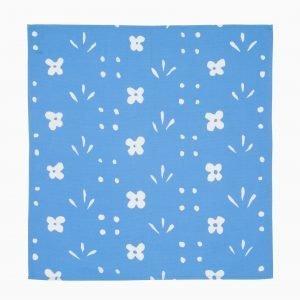 Marimekko Kukkaketo Keittiöpyyhe Sininen Valkoinen 50x53 Cm