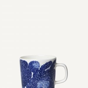 Marimekko Oiva / Mynsteri Muki Sinivalkoinen 25 Cl