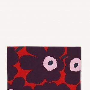 Marimekko Pieni Unikko Tabletti Punainen Violetti Vaaleanpunainen 31x42 Cm