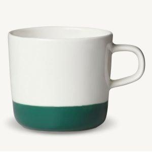 Marimekko Puolikas Kahvikuppi Valkoinen / Vihreä 20 Cl