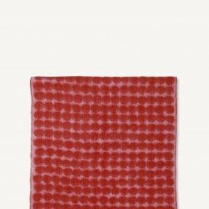 Marimekko Räsymatto Huopa Punainen Vaaleanpunainen 70x180 Cm