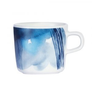 Marimekko Sääpäiväkirja Kahvikuppi Valkoinen / Sininen 20 Cl
